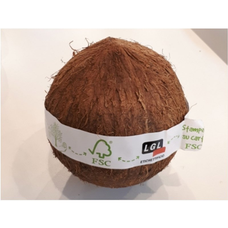 Coconut-taped